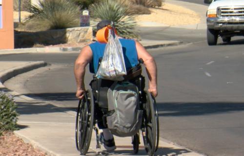 shane watson homeless las cruces panhandling