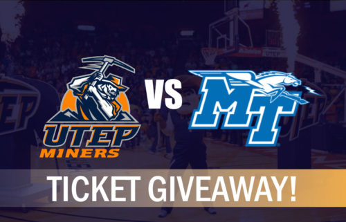 UTEP Basketball vs Middle Tennessee