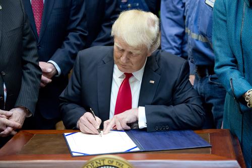 Trump signs trade deal