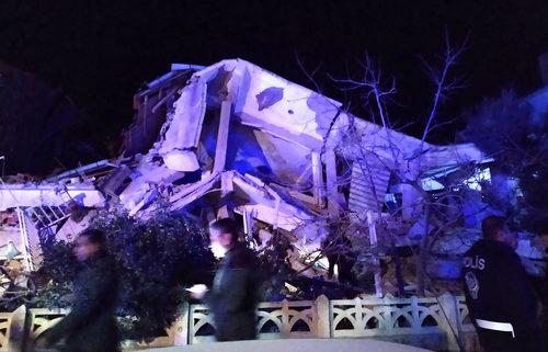Turkey earthquake damage