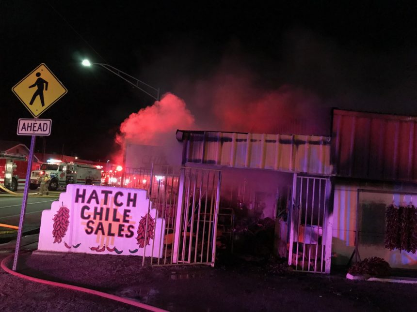 Hatch Chile Sales fire