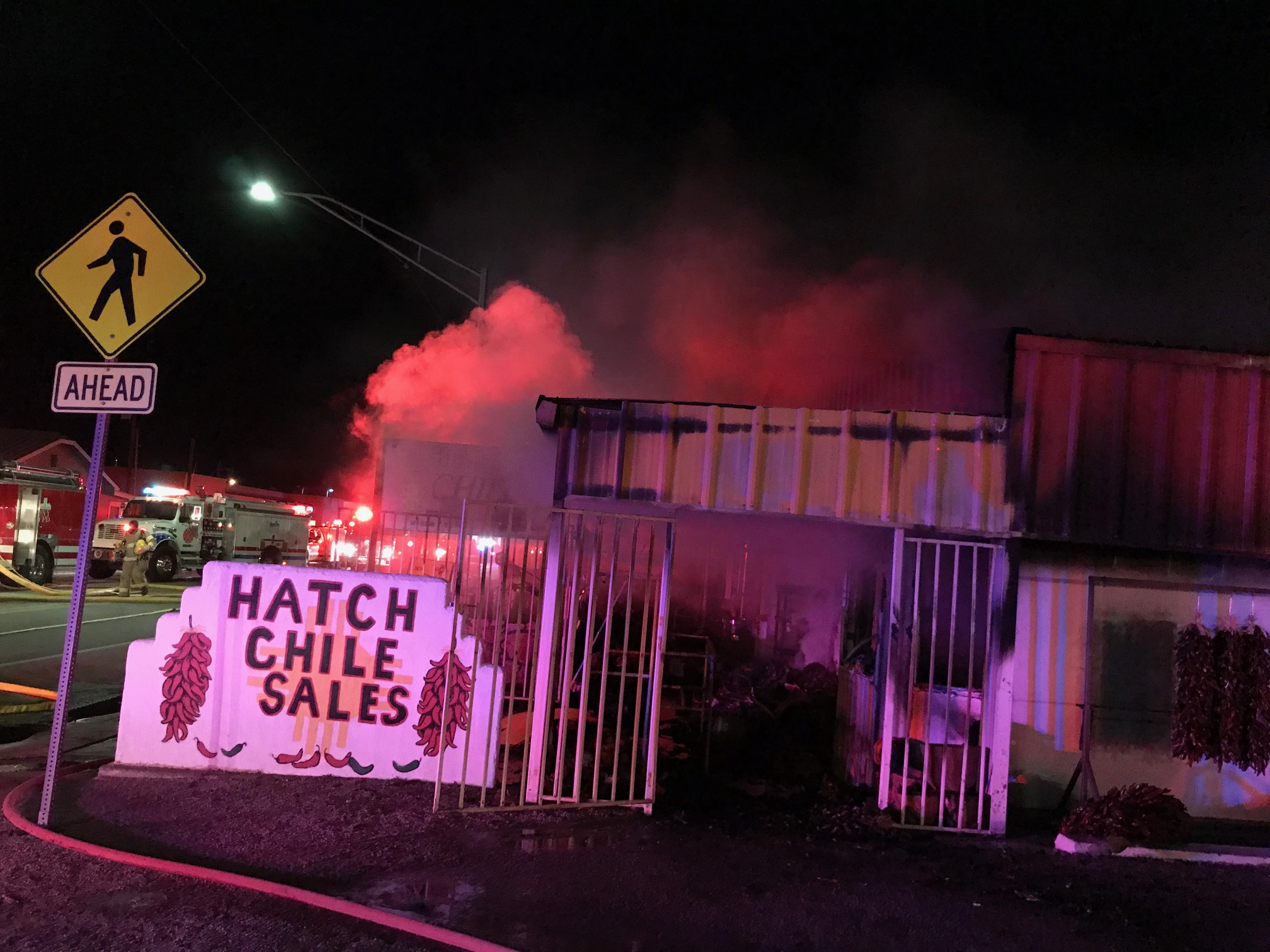 Hatch Chile Sales fire