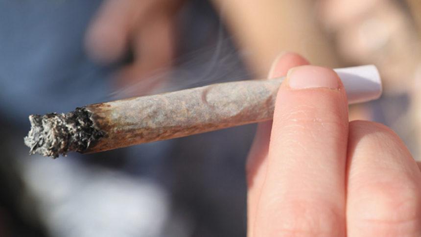 marijuana, joint smoking