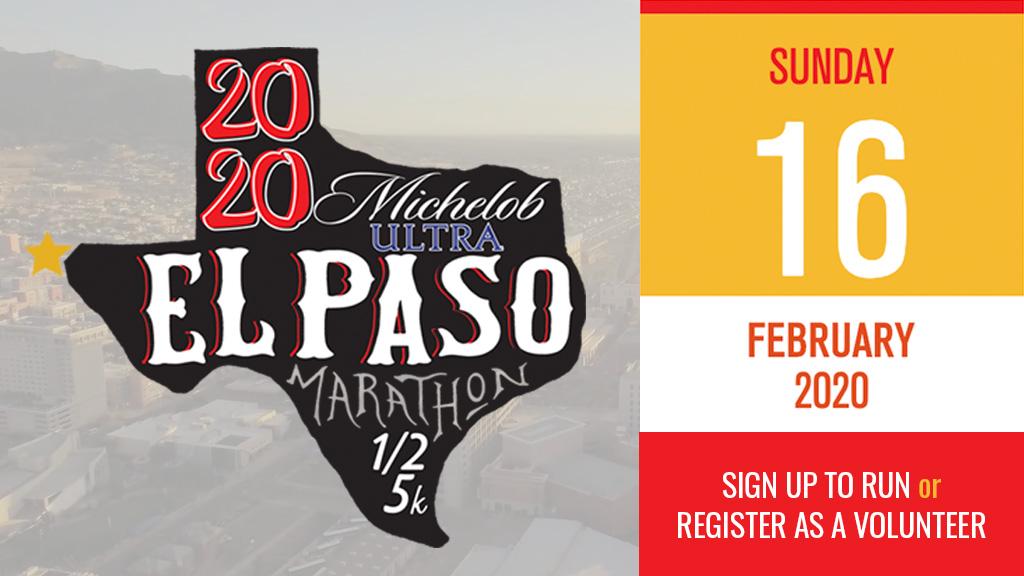 El Paso Marathon promo