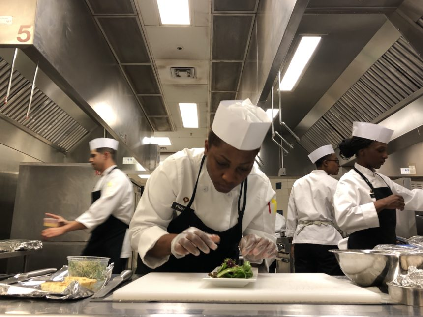 Fort Bliss soldiers work on culinary skills