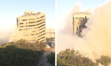 building-implosion-dallas-texas