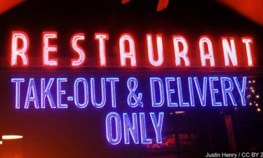 restaurant take-out delivery only
