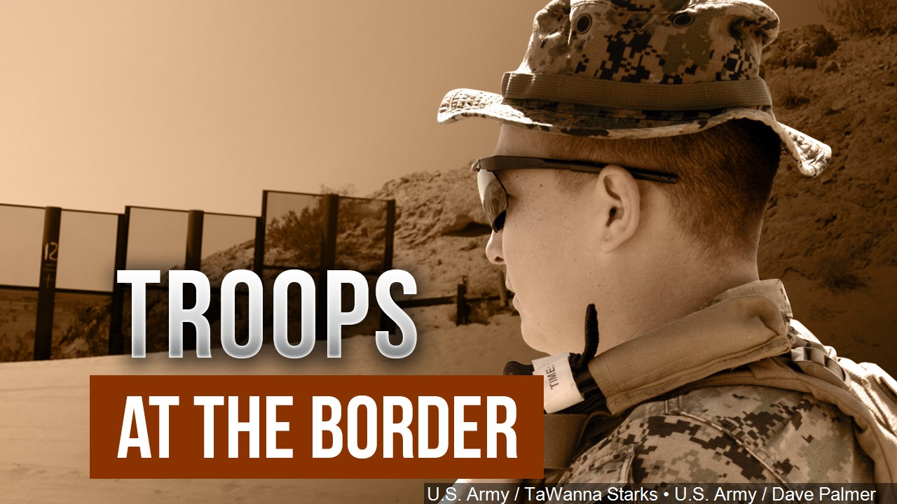 troops at the border
