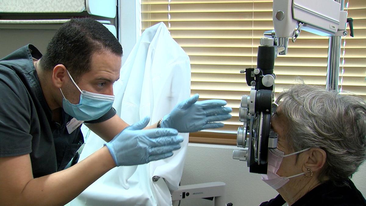 Opthamologist Michael Foote