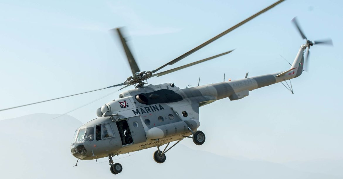 Mexican Navy helicopter Mi-17