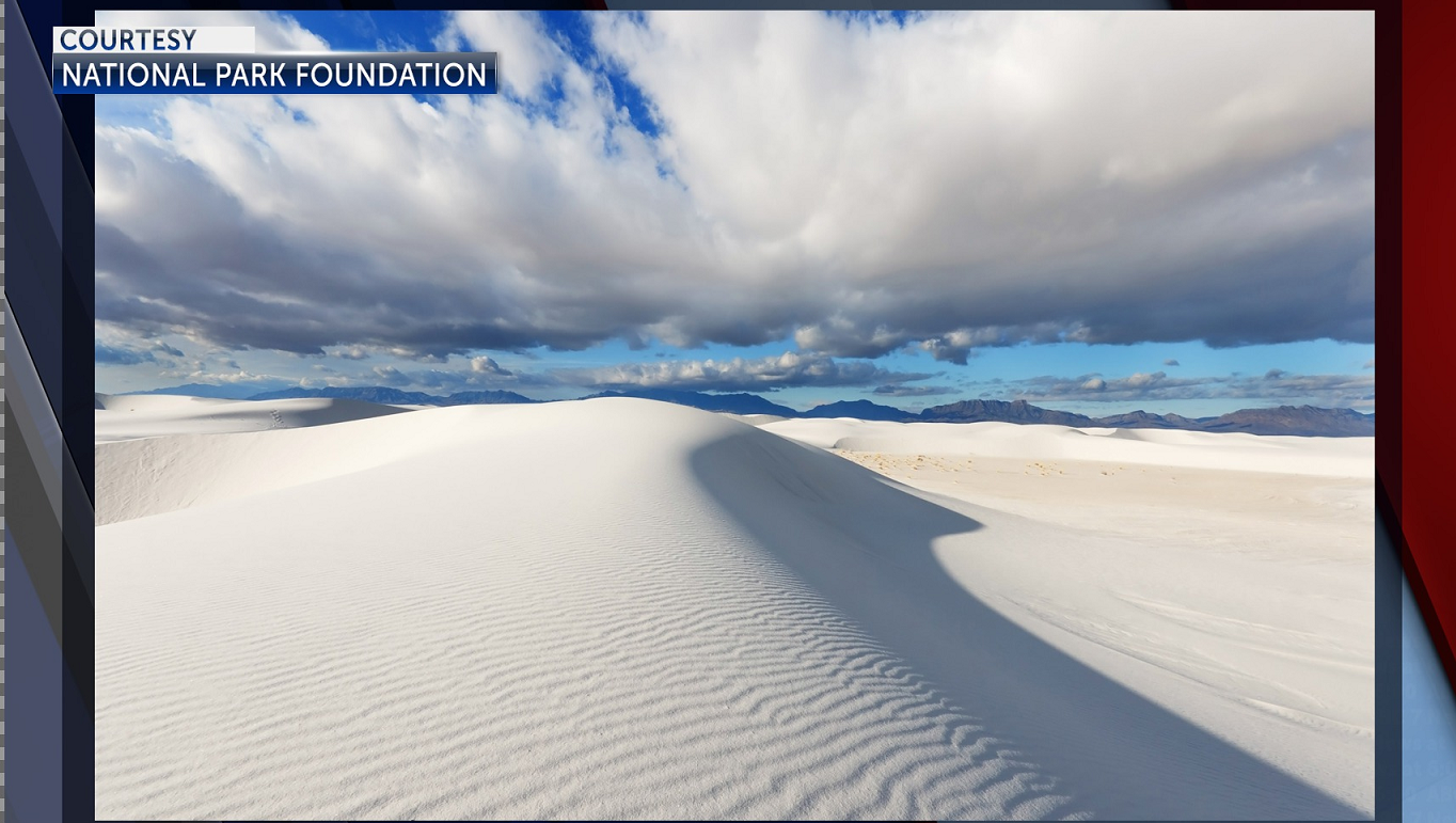 Picture of White Sands courtesy National Park Foundation