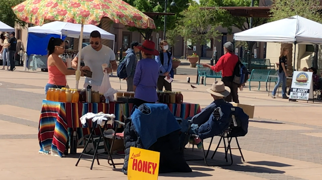Las Cruces Farmer's Market stays open during pandemic - KVIA