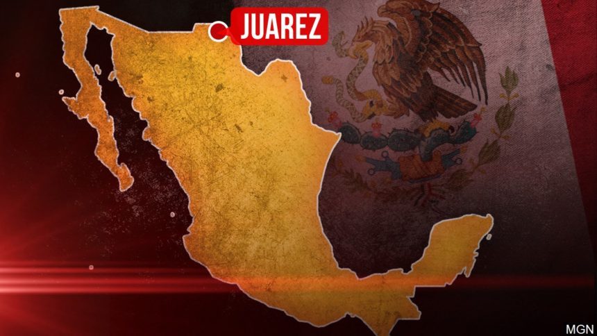 mexico map Juarez