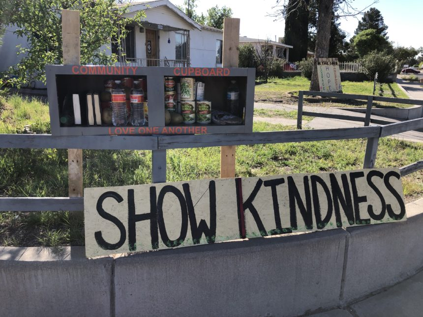 show kindness sign