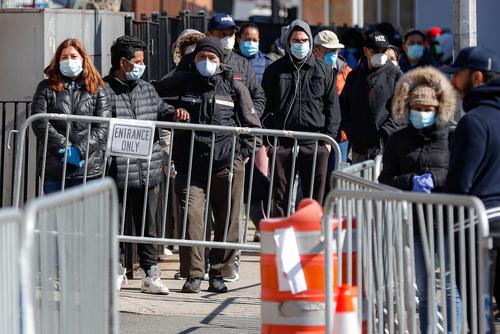 patients wearing face masks