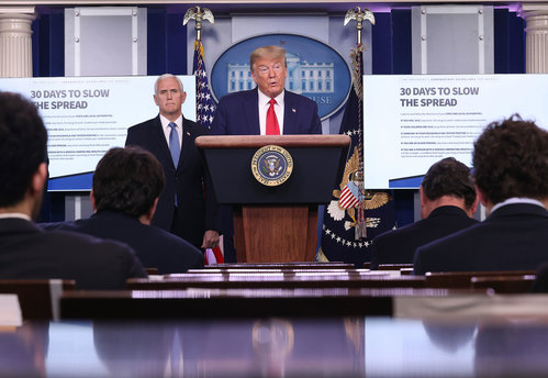 trump-pence-virus task force