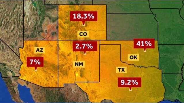 New Mexicans are some of the best in the nation at staying home, while Texans not as much - KVIA