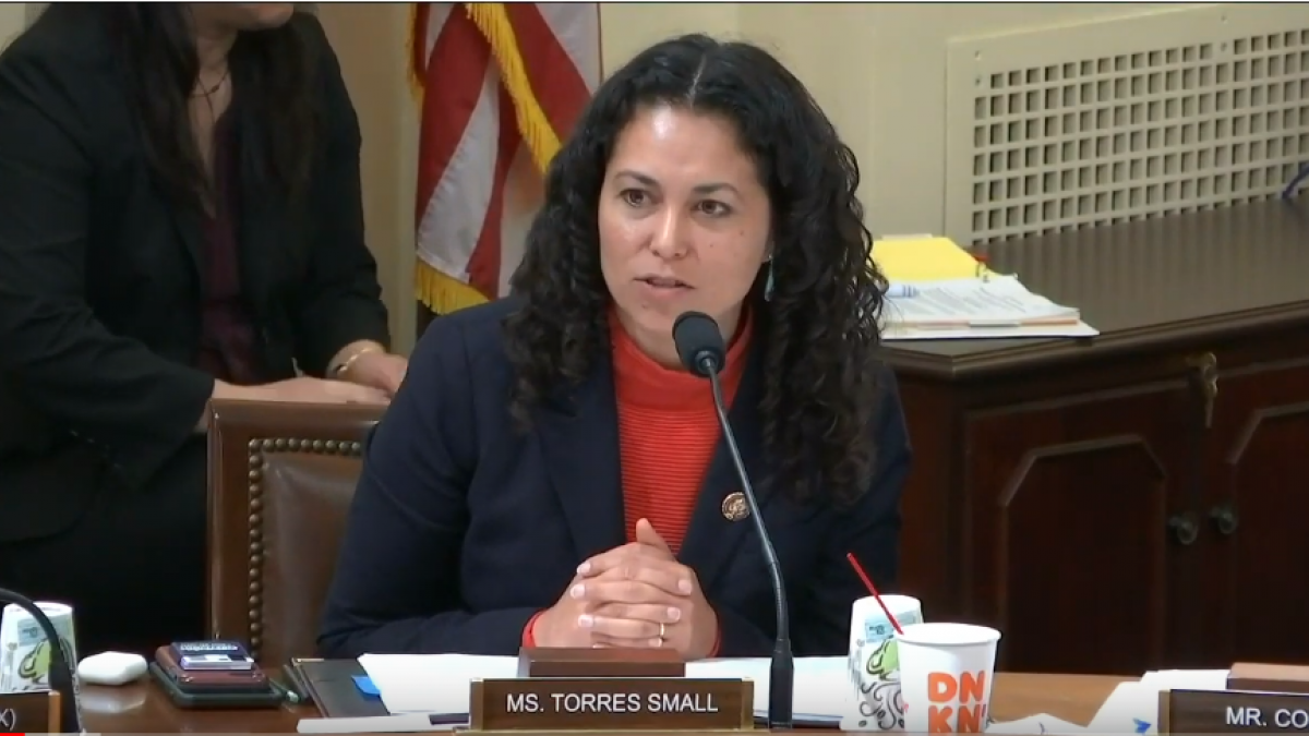 Congresswoman Xochitl Torres Small