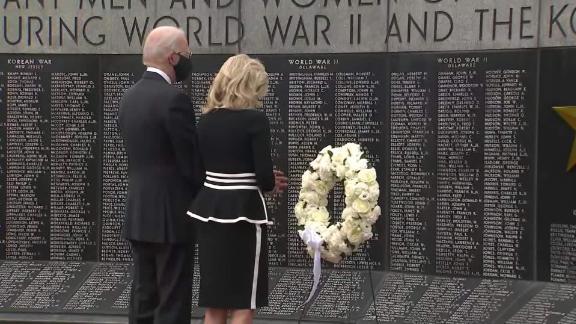 Biden leaves home to lay Memorial Day wreath - KVIA