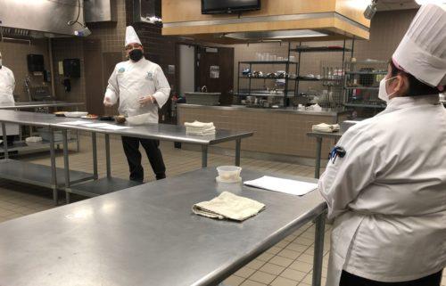 EPCC culinary arts students