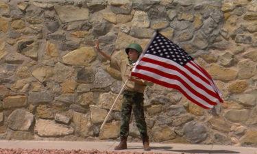 flag boy Adam Navar