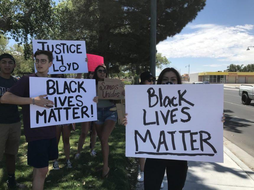Las Cruces protest