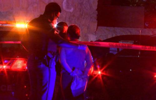 shooting-arrest-woman