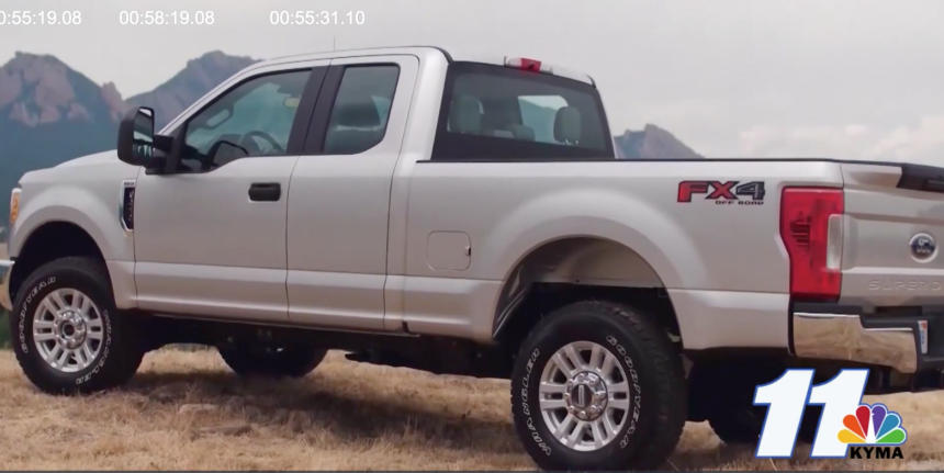 Ford issues recall over tailgate issue