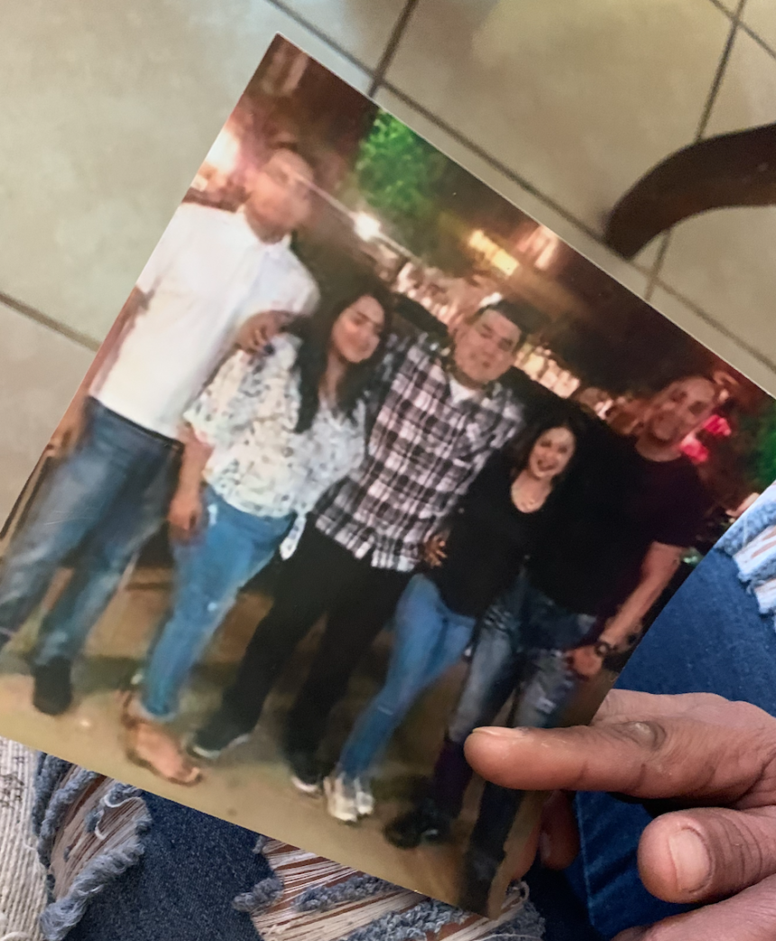 Family separated for 18-years finally reunites.