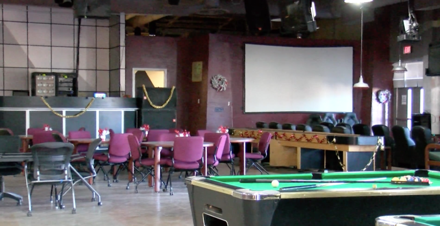 Pool tables and movies at the SMP