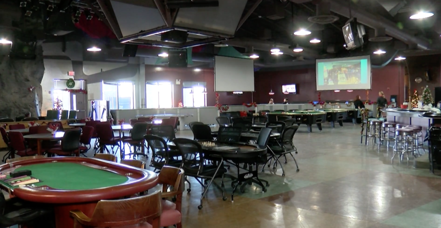 Poker tables at SMP