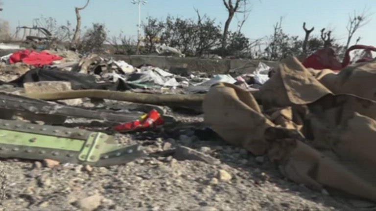 iraqi crash site