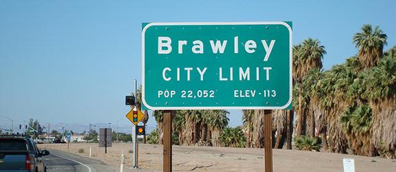 Brawley Sign