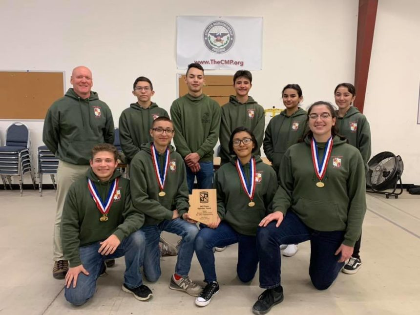 KHS JROTC State Meet Rifle Team