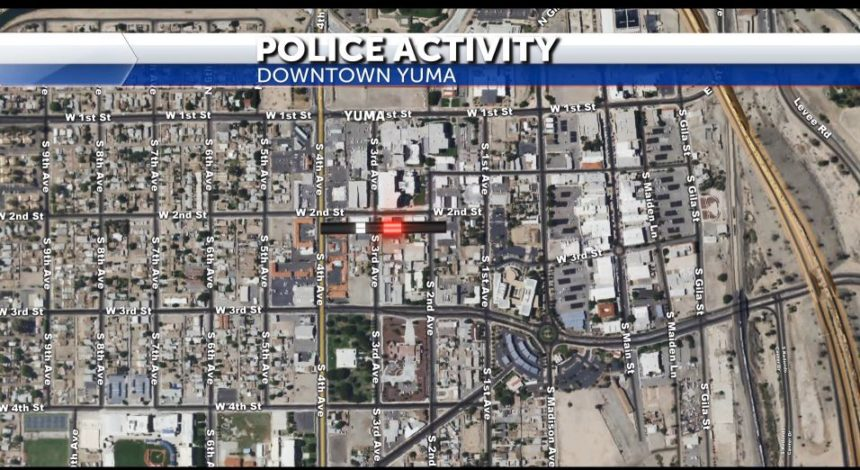Police activity map