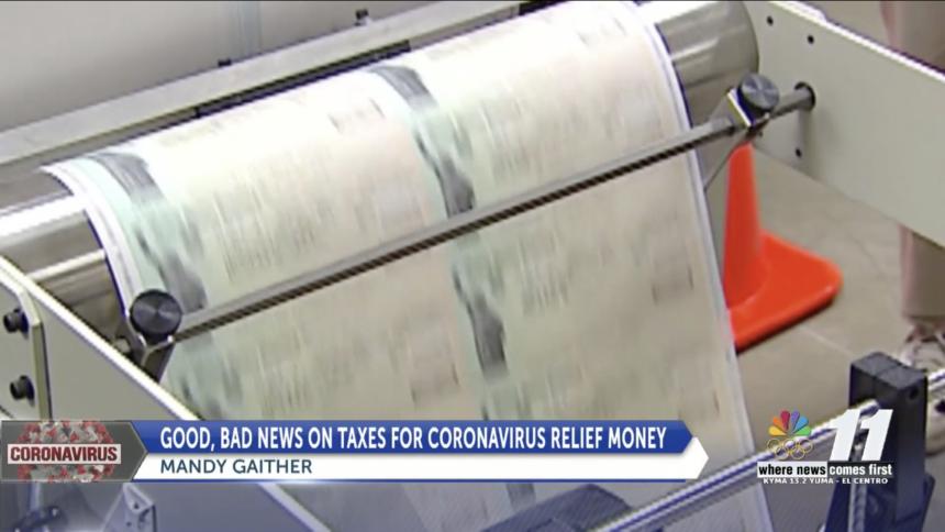 Good & Bad News On Taxes For Coronavirus Relief Money