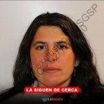 Andrea Panini fue vista en Montevideo