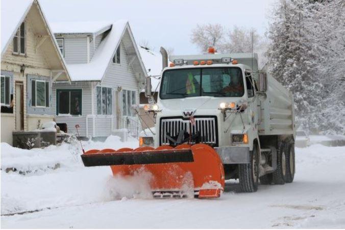 idaho falls snow plow