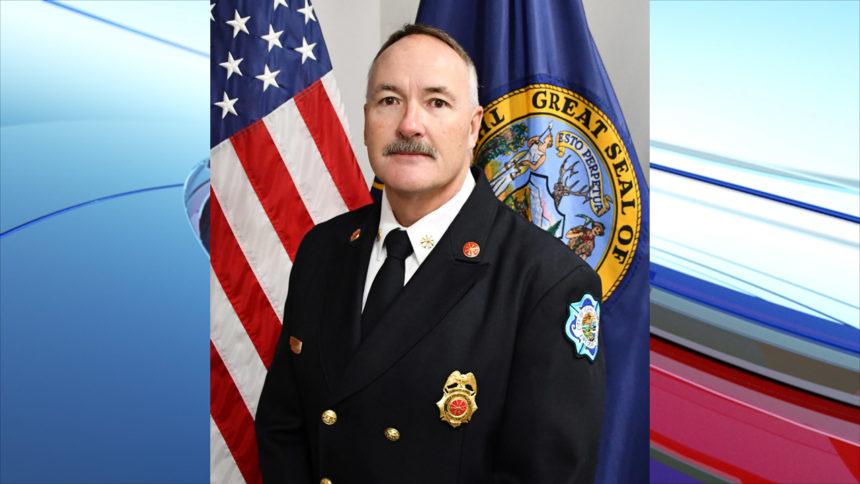 IFFD Deputy Fire Chief Dave Coffey