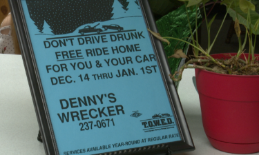 Denny's Wrecker rides