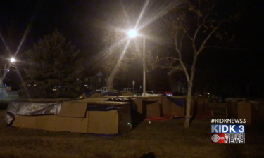 2019 homeless encampment aid for friends