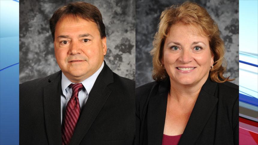 Steve Martinson and Andrea Gilstrap