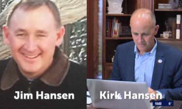 Jim Hansen and Kirk Hansen