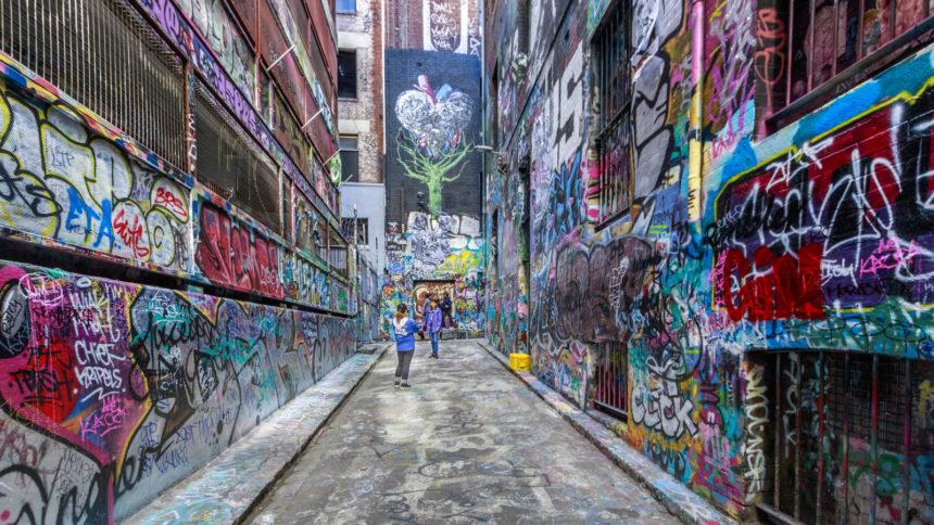 Australia, Hosier Lane,Melbourne,Urban art,Victoria,graffiti,street art