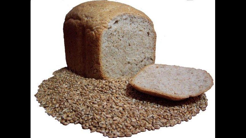 1. Multi-grain and wheat bread