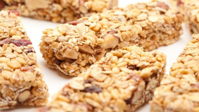 5. Energy bars -- Energy bars are the perfect pre-workout snack, right? Not always. Many energy bars are filled with high fructose corn syrup, added sugar, calories and saturated fat.