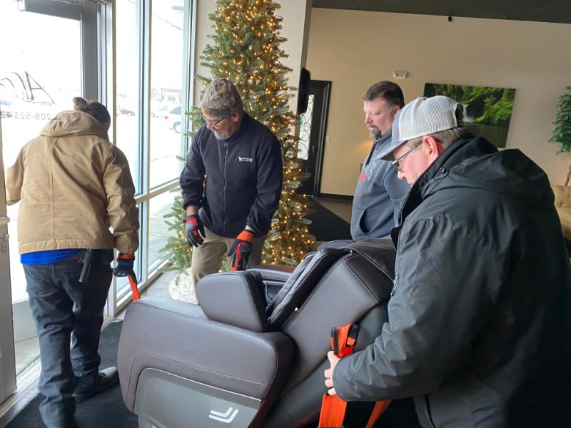 Ahhhsome Relaxation donation to Bonneville Co Sheriff's Office