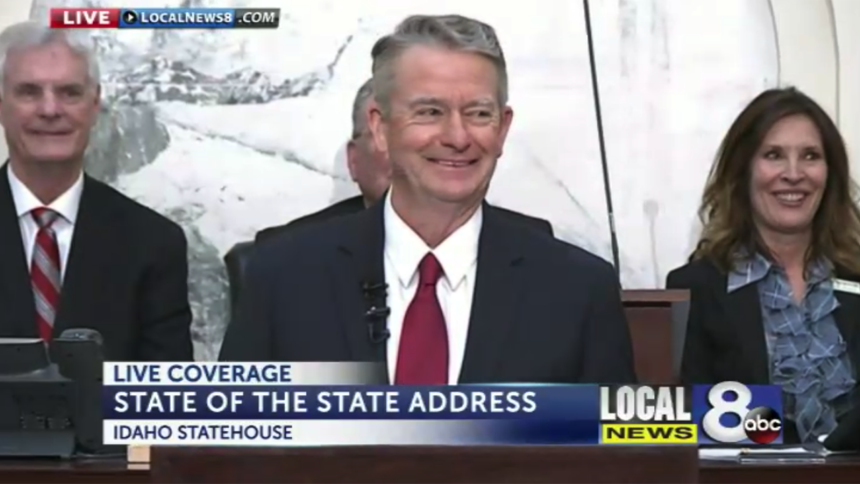 Brad Little State of the State address 2020