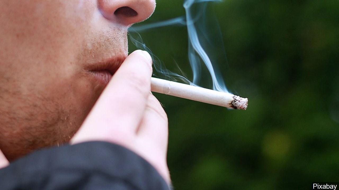 Cigarettes smoking