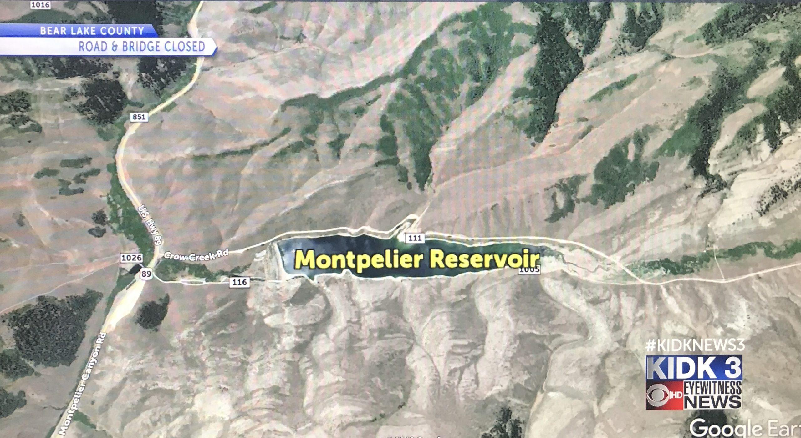 avalanche montpelier reservoir